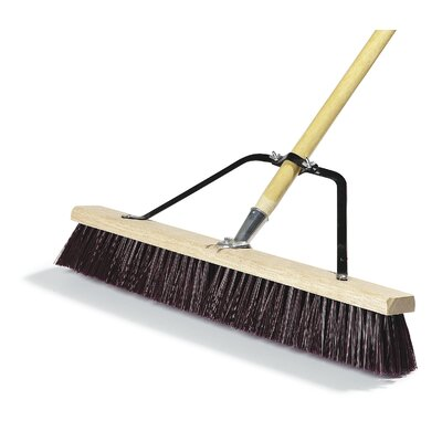 Rough Sweep Garage Brush with Palmyra Bristles (Set of 4)