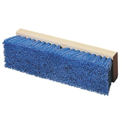 Flo-Pac Polypropylene Deck Scrub (Set of 12) Color: Blue