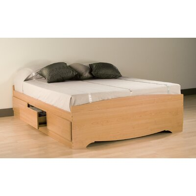 Prepac Sonoma Storage Platform Bed - Size: Queen, Finish: Maple at Sears.com