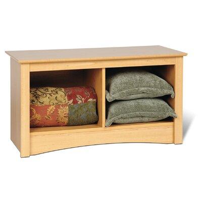 Sonoma Storage Bedroom Bench Finish: Maple