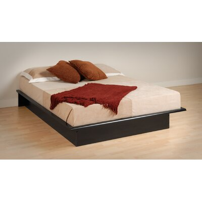 Financing Platform Bed Size: Full, Finish: Bl...