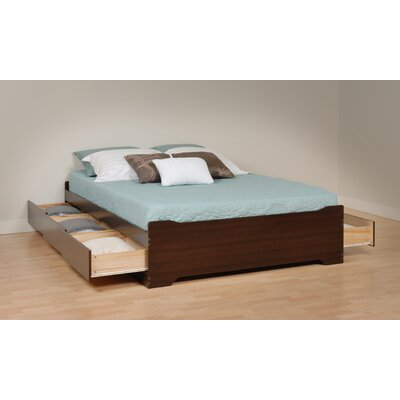 Oleanna Storage Platform Bed Size: Full, Finish: Espresso