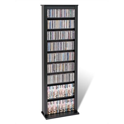 Slim Black Barrister Storage Tower