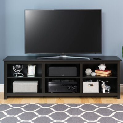 Norristown 72 TV Stand Color: Black