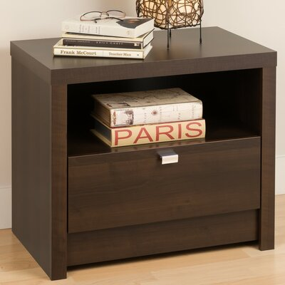 designer series 9 1 drawer nightstand finish