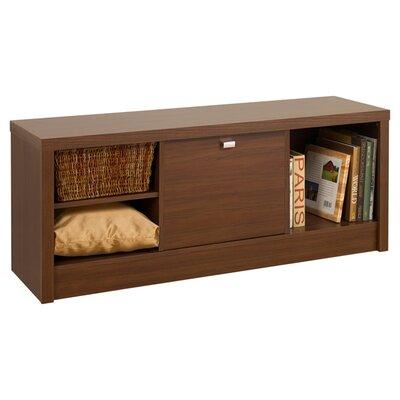 Bedroom Cubbie Storage Bench Finish: Medium Brown Walnut
