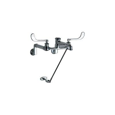 Wall mounted Double Handle Bathroom Faucet