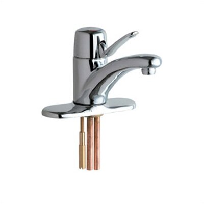 Marathon Single Hole Bathroom Faucet with Single Lever Handle Optional Accessory 1: Without Low Lead Faucet, Optional Accessory 2: Without Pop Up Drain