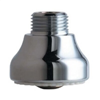 Rose Spray Outlet in Chrome