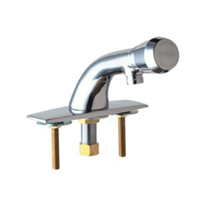 Single Hole Bathroom Faucet with Single Handle Flow Rate: 2.0 GPM