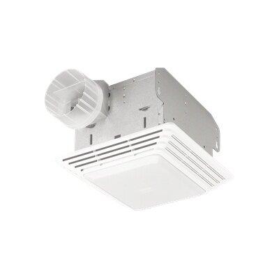Broan Heavy Duty 80 CFM Bathroom Exhaust Fan with Light