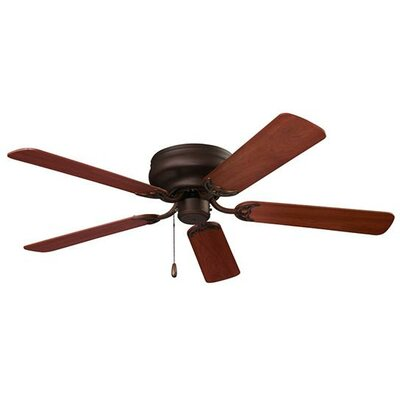 52 Hugger Series 5-Blade Ceiling Fan Finish: Oil-Rubbed Bronze