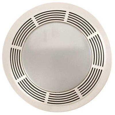 100 CFM Bathroom Fan with Night Light