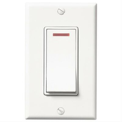 Single Function Control Color: White