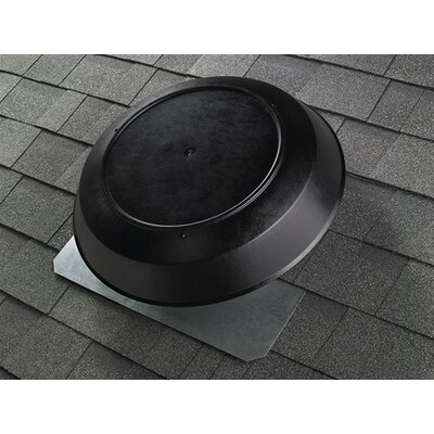 Attic Ventilator with Dome in Black Fan strength: 1600 CFM