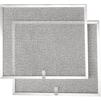 Broan Vent Hoods Allure Series Range Hood QS1 Aluminum Replacement Filters, Set Of Two 30 Inch - BPS1FA30 2532113