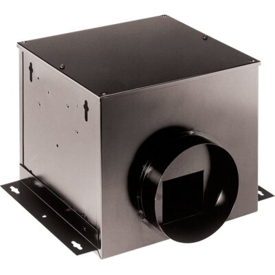 Single-Port Remote In-Line Ventilator Fan CFM: 110