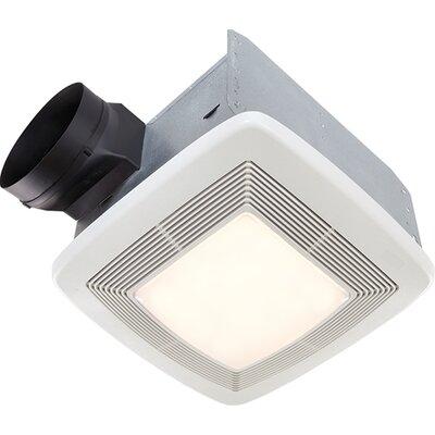 Ultra Silent Quietest Bathroom Exhaust Fan - Energy Star Fan strength: 110 CFM