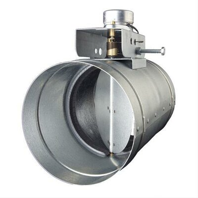 Universal Range Hood Make-Up Air Slave Damper MD6S