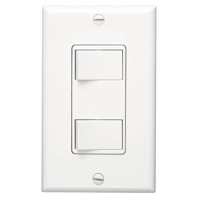 2-Function Control Color: White