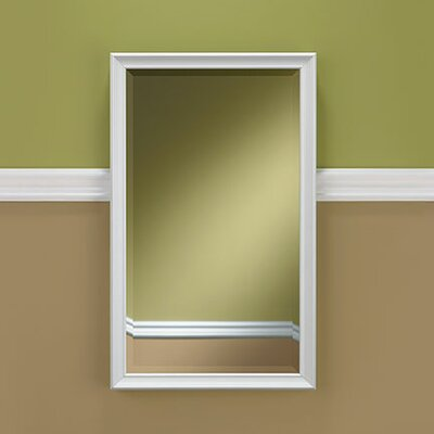 Studio V Frame Finish: White, Size: 25 H x 15 W x 4 D