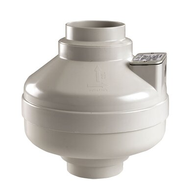 Radon In Line Exhaust Bathroom Fan