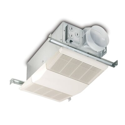 Bathroom exhaust fan with heater for Bathroom ventilation