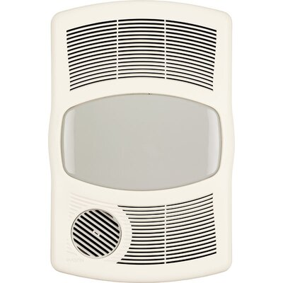 Home improvement bathroom exhaust fan with heater for Heat bathroom