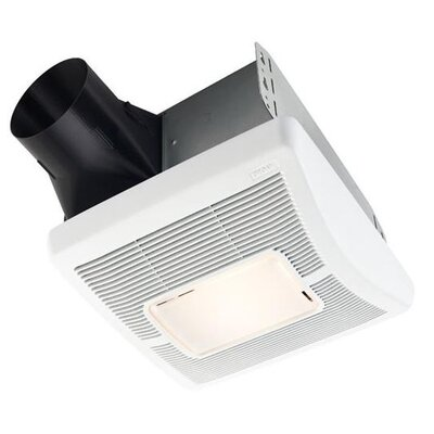 InVent Single-Speed 50 CFM Bathroom Fan with Light