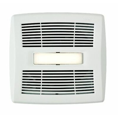 InVent Single-Speed 110 CFM Energy Star Bathroom Fan With LED Light