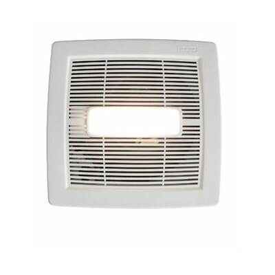 InVent Single-Speed 80 CFM Energy Star Bathroom Fan With LED Light