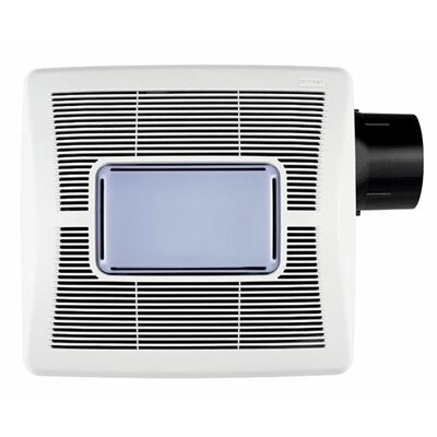 InVent Single-Speed  80 CFM Bathroom Fan with Light