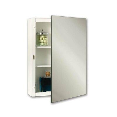 Specialty Topsider Single Door Surface Mount Medicine Cabinet Height: 22