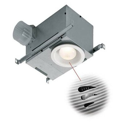 Recessed Fan with Fluorescent Light