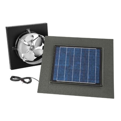 Gable Mount Solar Powered 537 CFM Attic Ventilator