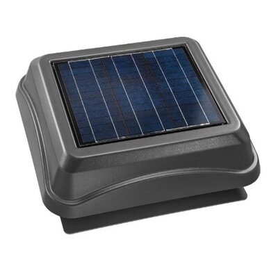 Surface Mount Solar Powered 537 CFM Attic Ventilator 345SOWW