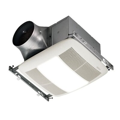 80 CFM Bathroom Fan with Light