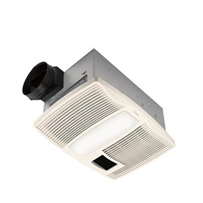 110 CFM Bathroom Fan with Heater and Light