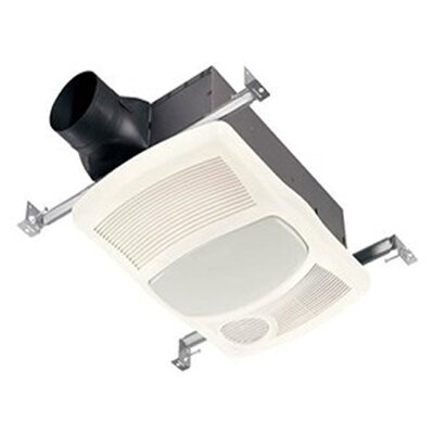 100 CFM Bathroom Fan with Heater and Light
