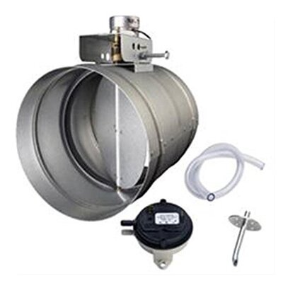 Universal Make-Up Air Damper with Pressure Sensor Kit MD8TU