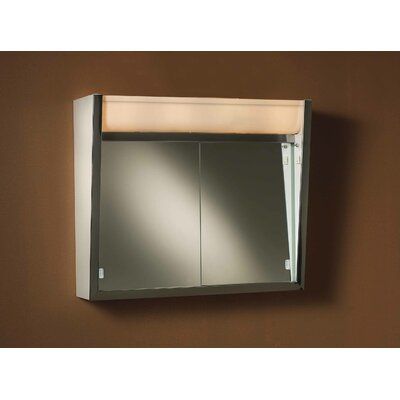 Ensign 24 x 23.5 Surface Mount Medicine Cabinet with LED Lighting
