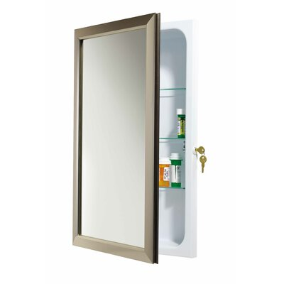 Speciality 15.75 x 25.5 Recessed Medicine Cabinet