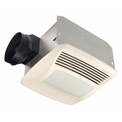 Broan Nutone Bathroom Exhaust Fan and Heater with Fluorescent ...