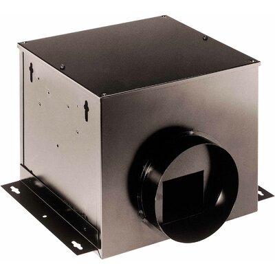110 CFM Single-Port Remote In-Line Ventilator Fan