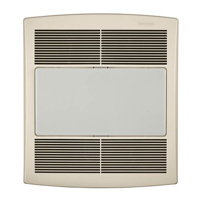 Ultra Silent 80 CFM Energy Star Bathroom Exhaust Fan with Fluorescent Light
