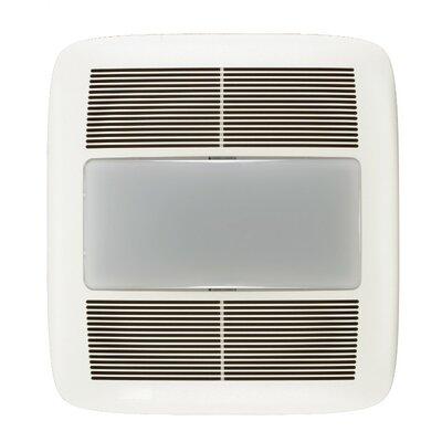 Ultra Silent 150 CFM Energy Star Quietest Bathroom Fan with Light