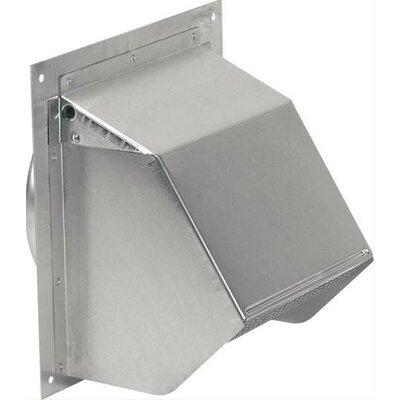 6 Diamter Aluminum Wall Cap