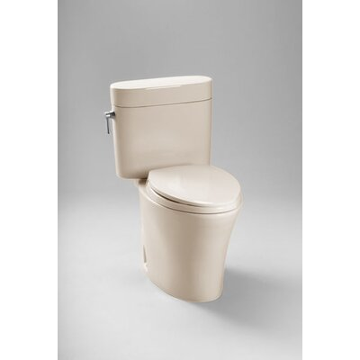 Nexus 1.28 GPF Elongated Two-Piece Toilet Toilet Finish: Bone