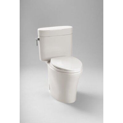 Nexus 1.28 GPF Elongated Two-Piece Toilet Toilet Finish: Colonial White