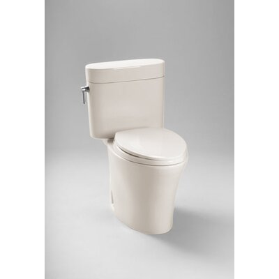 Nexus 1.28 GPF Elongated Two-Piece Toilet Toilet Finish: Sedona Beige